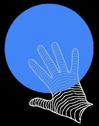 Ui_hand_full_blue